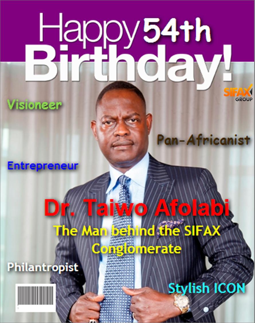 Dr. Taiwo Afolabi's 54th birthday celebration